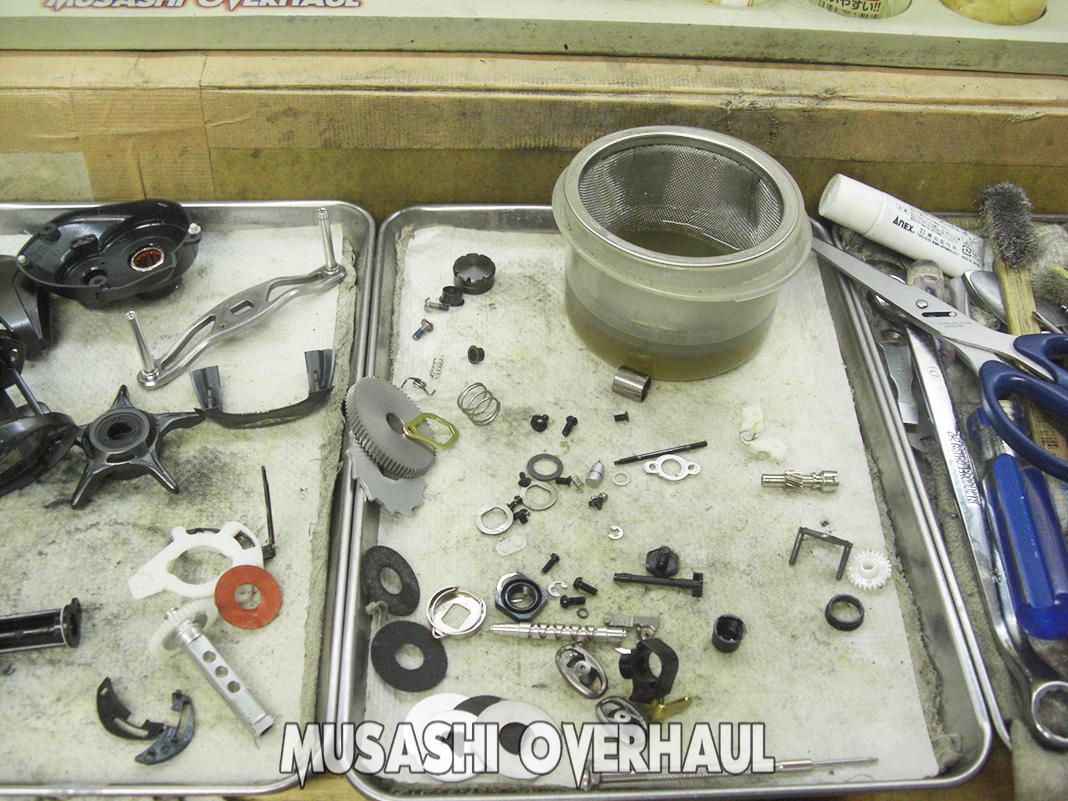 ダイワ スティーズ SVTW TW1016SV オーバーホール修理写真