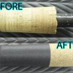 シマノ バンタム274M エンドグリップ修理カスタム・・・エンドグリップが折れたので 新規一転 カスタムアップグレード。シェイプ径もオリジナル(ワンオフ)