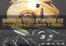 ベイトリール塗装リペイント 18 STEETZ A TW 1016-CC リール塗装 写真