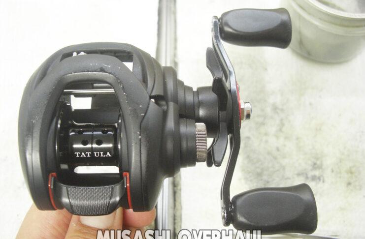 ダイワ 18 タトゥーラ 7.1 100SH メンテナンス修理 写真