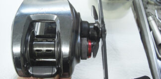 ダイワ Z2020SH リールメンテナンス修理写真