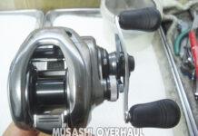 シマノ 15メタニウムDC HG ノイズ異音 修理写真