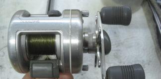 シマノ 初代92カルカッタ100 メンテナンス修理写真