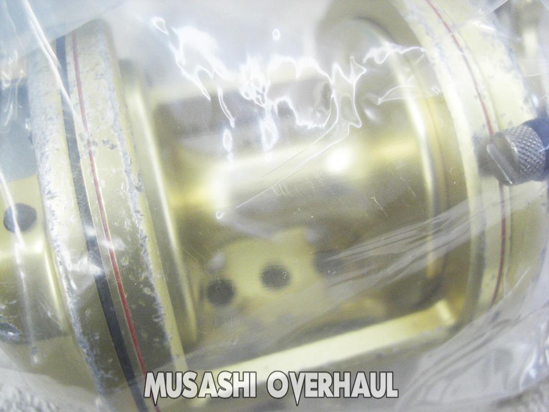 シマノ 08 海魂 3000TH オーバーホール修理写真