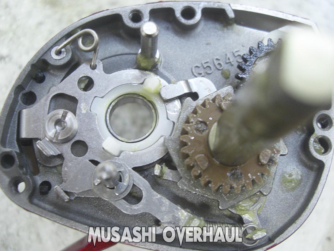 ダイワ アルファス103 タイプF セブンシーズ メンテナンス修理写真