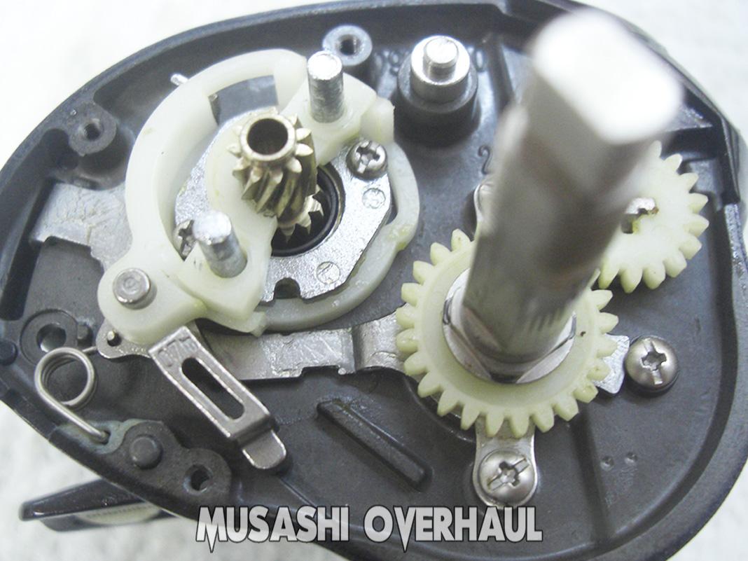 シマノ 09スコーピオンXT 1500-7 分解展開図 写真