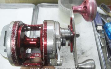 トーナメント石鯛 Z40 電池交換 メンテナンス写真