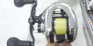 シマノ 12アンタレス HG 左 修理メンテナンス写真