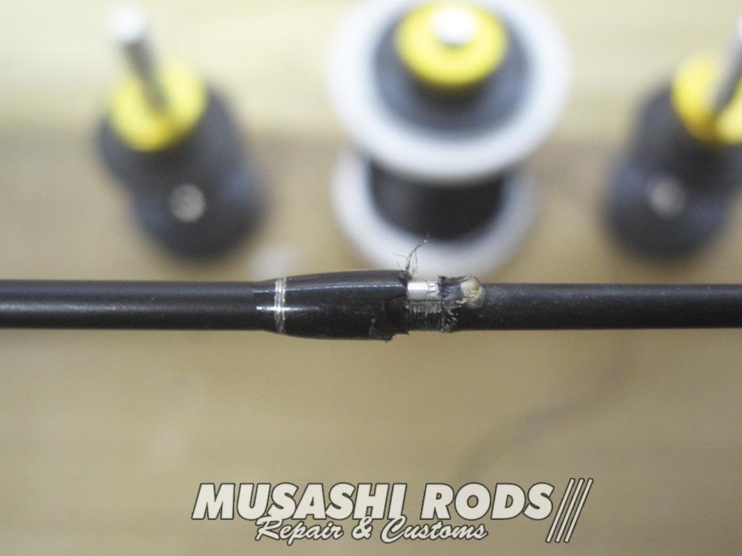 レイドジャパン グラディエーター G-611MC ガイド修理写真