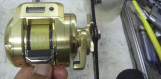 シマノ 18オシアコンクエストCT 300PG メンテナンス写真