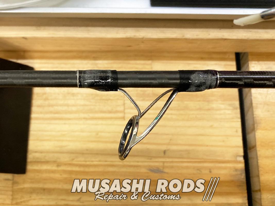シマノ エンカウンター S96ML ロッド修理改造 写真