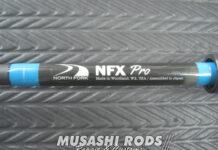 ノースフォーク NFX-PRO 折れたロッド修理写真