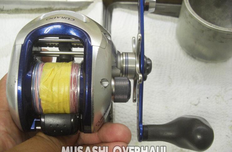 シマノ 08クラド 300J オーバーホール修理写真