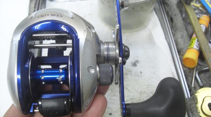 シマノ 08クラド メンテナンス修理写真
