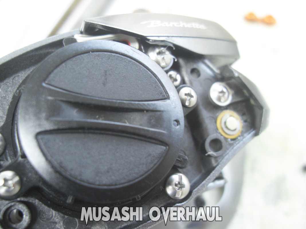 シマノ 17バルケッタ 201HG オーバーホールメンテナンス修理写真