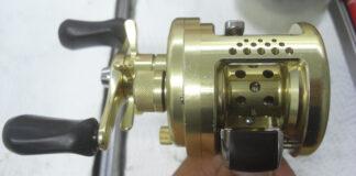 シマノ 01カルカッタコンクエスト51 分解メンテナンス修受付写真