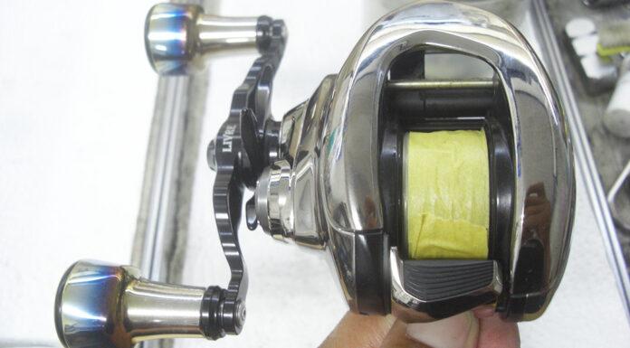 シマノ 21アンタレス DC HG メンテンス修理写真