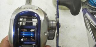 シマノ 08クラド 300 タイプ J 分解修理写真