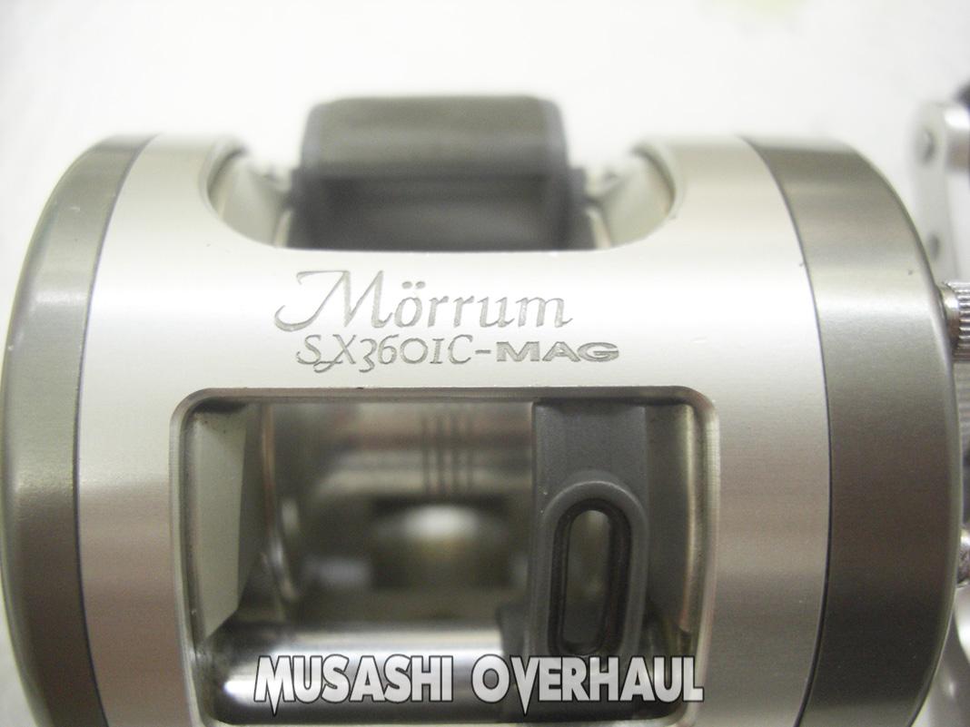 アブ モラム SX3601C マグ 分解展開図 写真