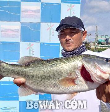 秋の琵琶湖2021 釣果写真 スピナーベイトバズベイト詳細