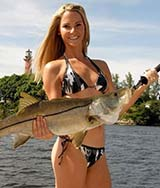 画像元© Girl snook fishing in Florida